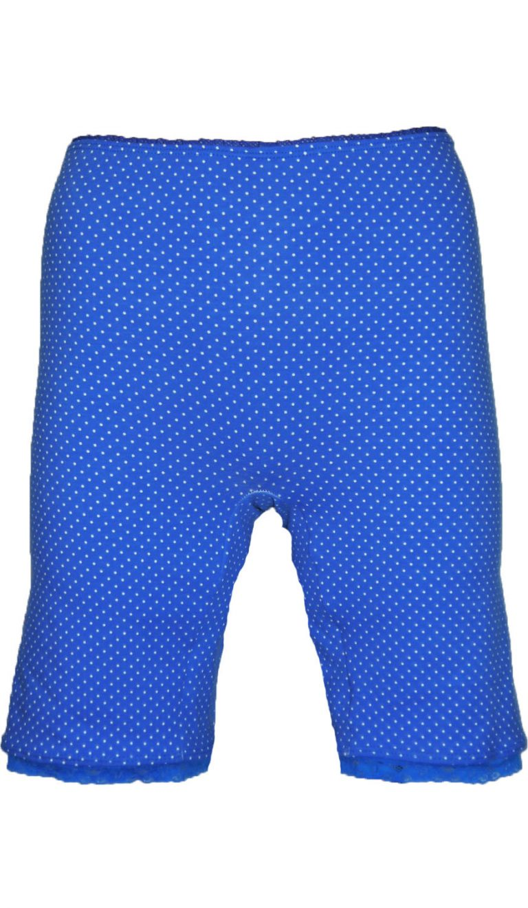 blauwe boxer