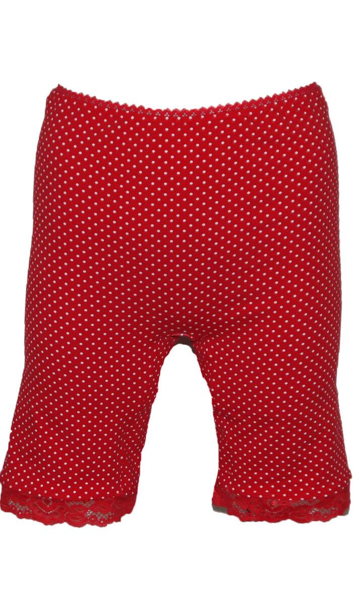rode stippen boxer