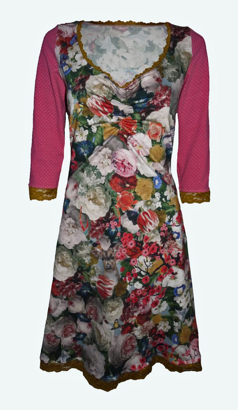 jurk met bloemen, Elizz
