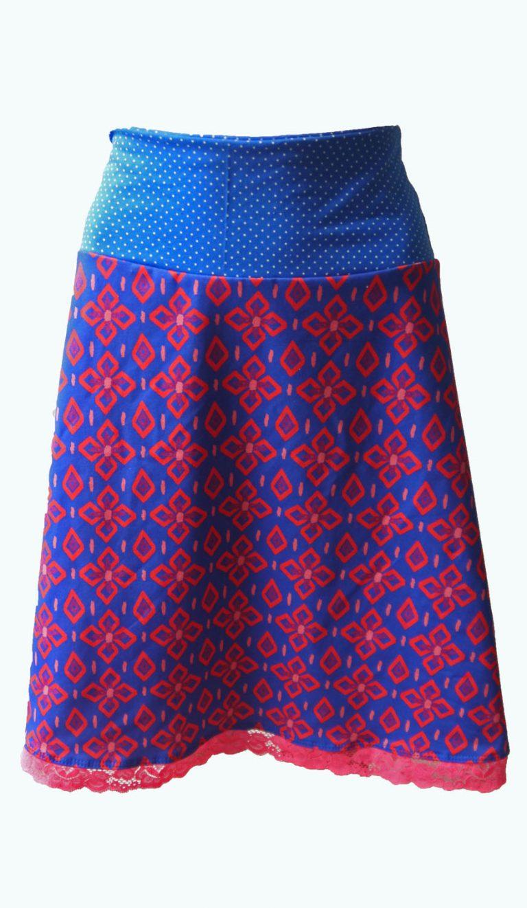 koningsblauwe rok, Elizz