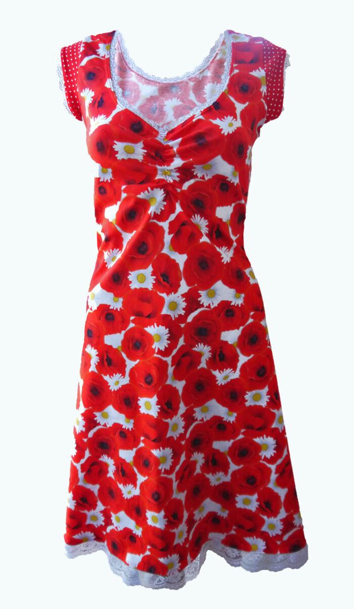 rode jurk, Elizz