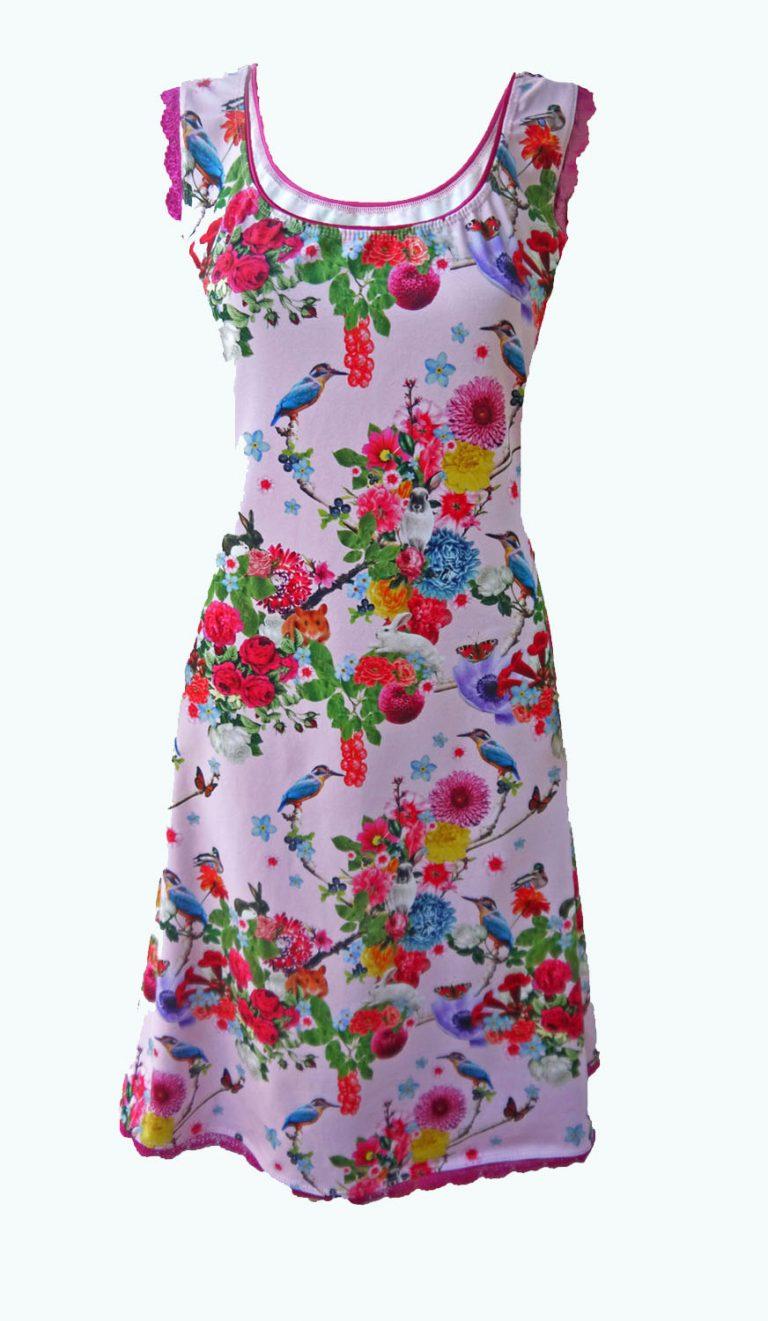roze jurk, Elizz