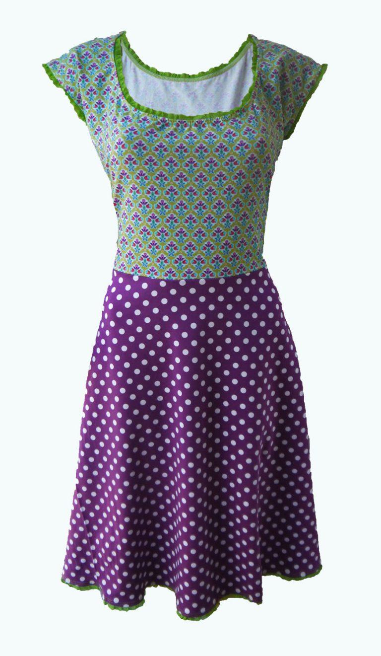 goodwill, paarse jurk, Elizz