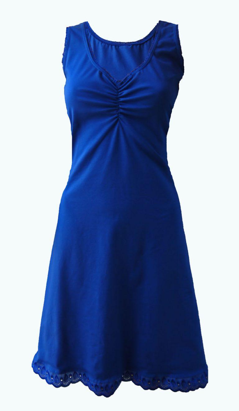 kobaltblauw jurkje, Elizz