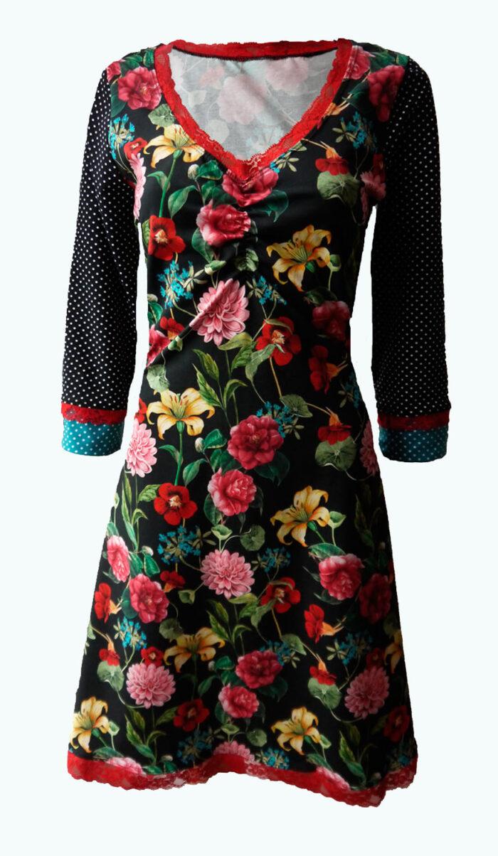 zwarte jurk, Elizz