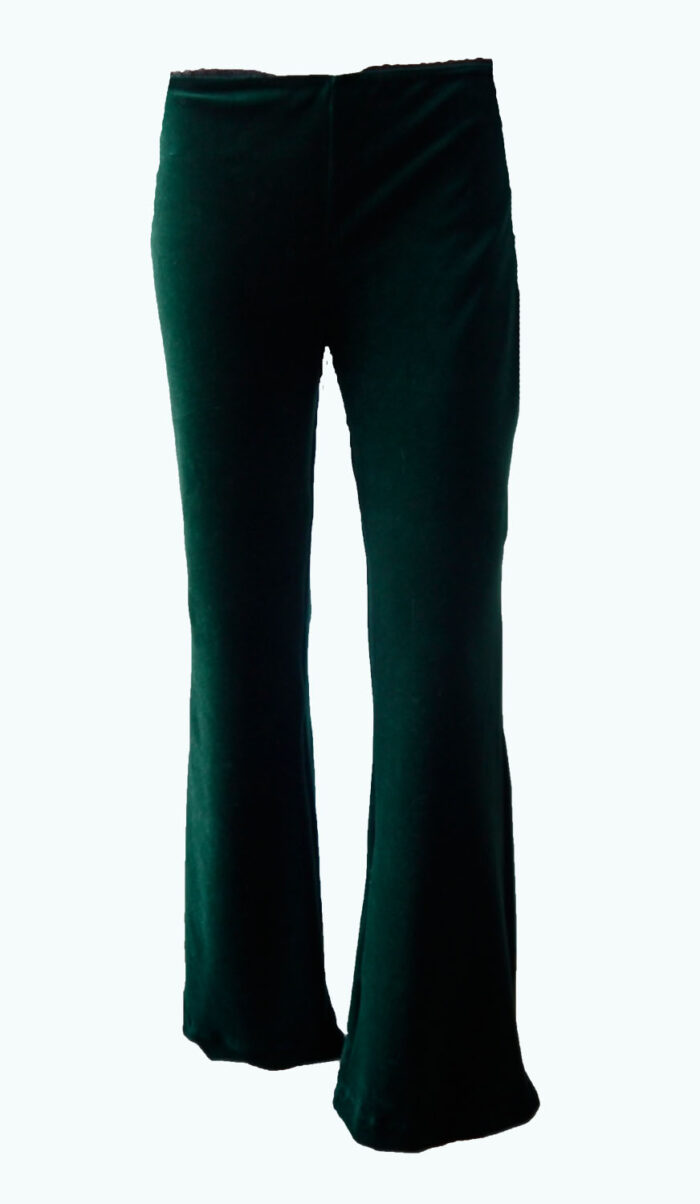velvet flaired broek, Elizz