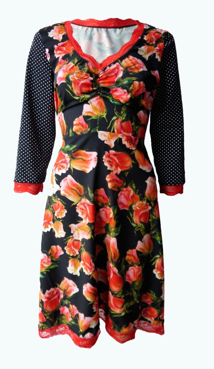 zwarte jurk,Elizz