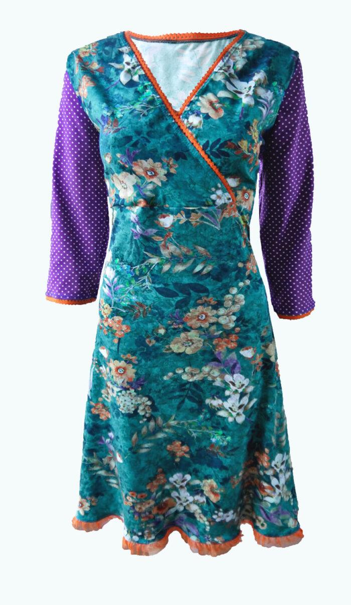 zeegroene jurk, Elizz
