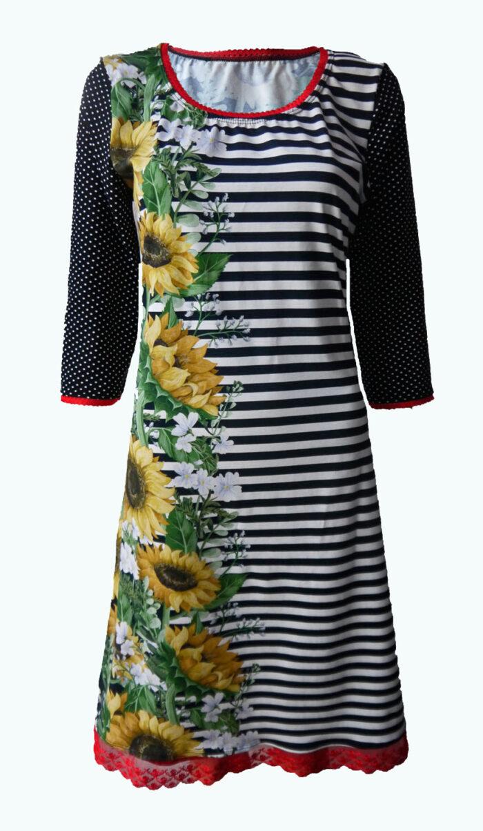 Miracle, Elizz, jurk met zonnebloemen