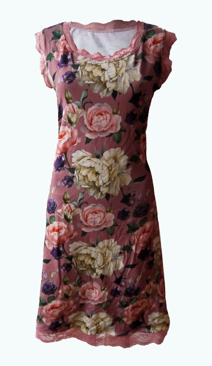 oudroze jurk, Touch, Elizz