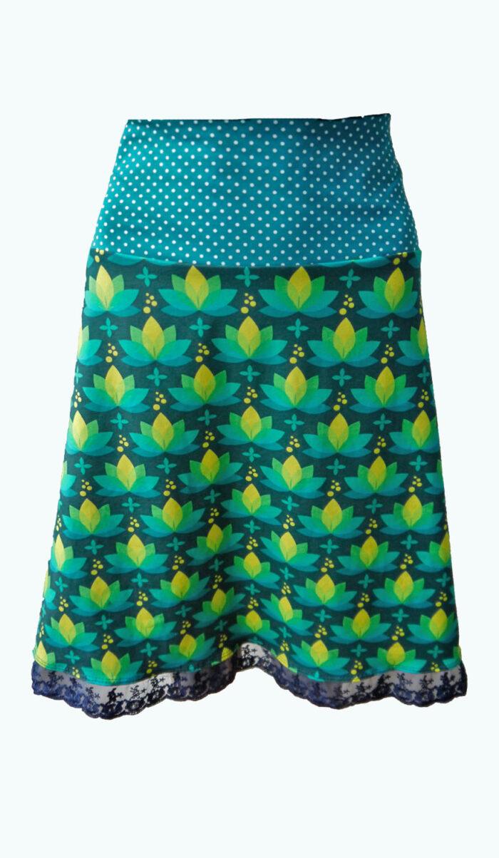 Lotus, Elizz, donekrblauwe rok