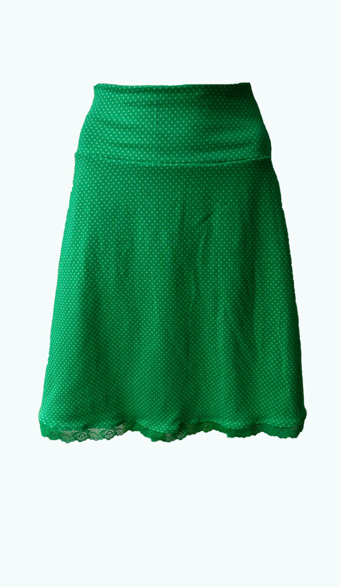 groene rok, Delighted GReen, Elizz