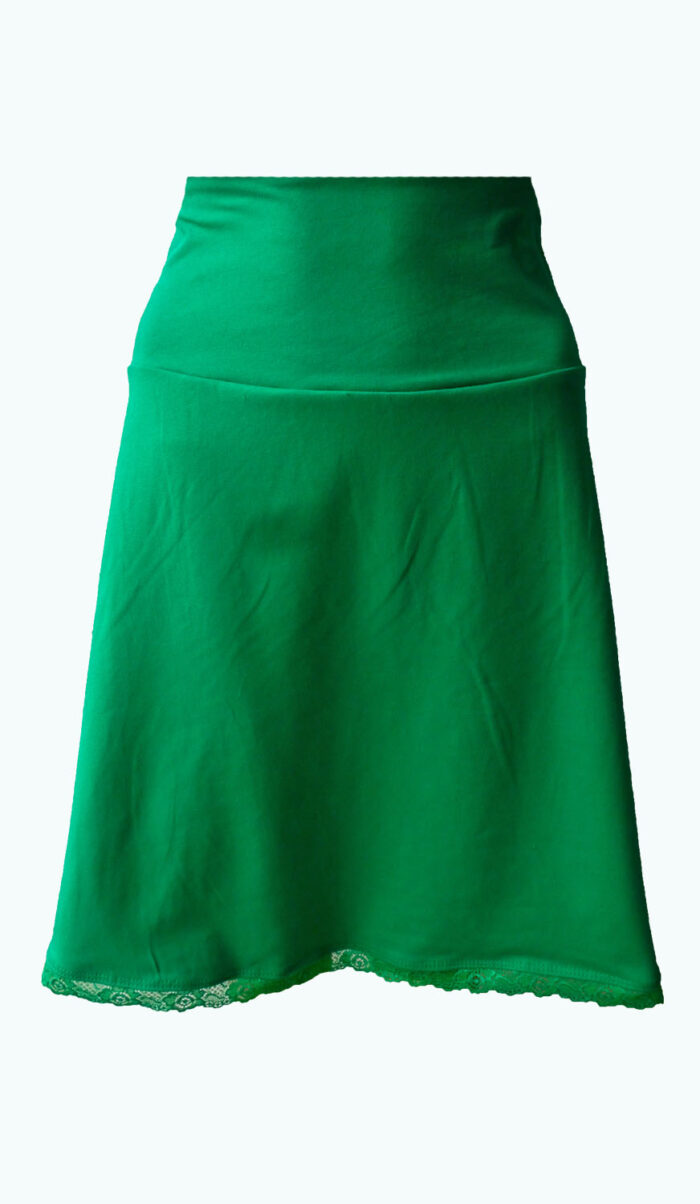 Gorgeous Green, groene rok, Elizz