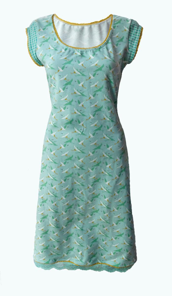 Complete, Elizz, mintgroene jurk
